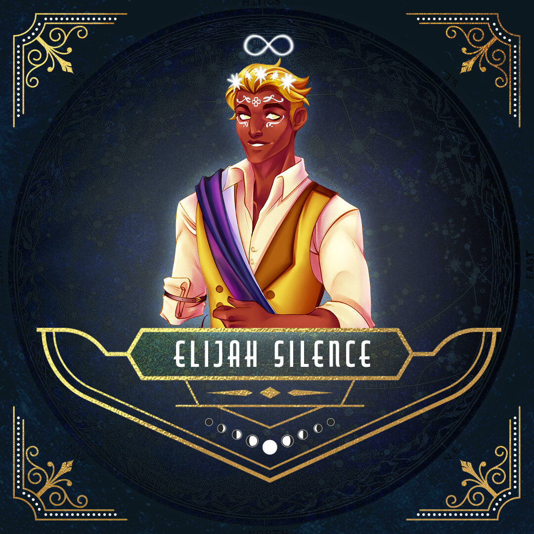 Elijah Silence, Aasimar Oath of Devotion Paladin