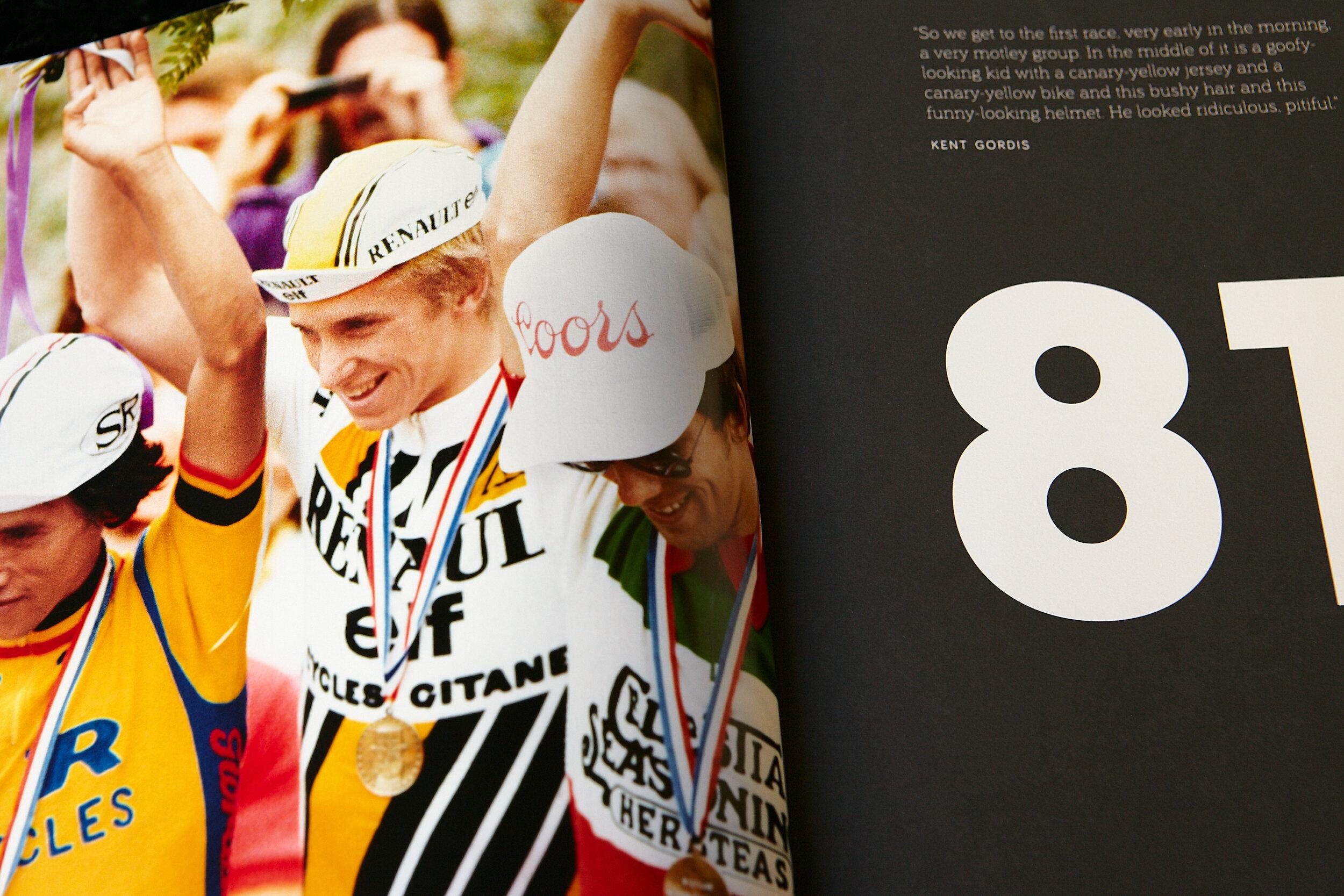 Greg LeMond — BLUETRAIN PUBLISHING