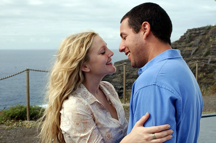 Drew Barrymore   and  Adam Sandler  in  50 First Dates (2004)