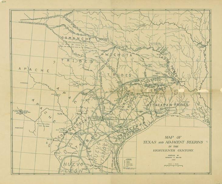 Apache Tribes, Coahuiltecan, Wichita, Tonkawan, Hasinai, Caddo, Attacapan, Karankawa and other Tribes lived in Texas.  Not that long ago