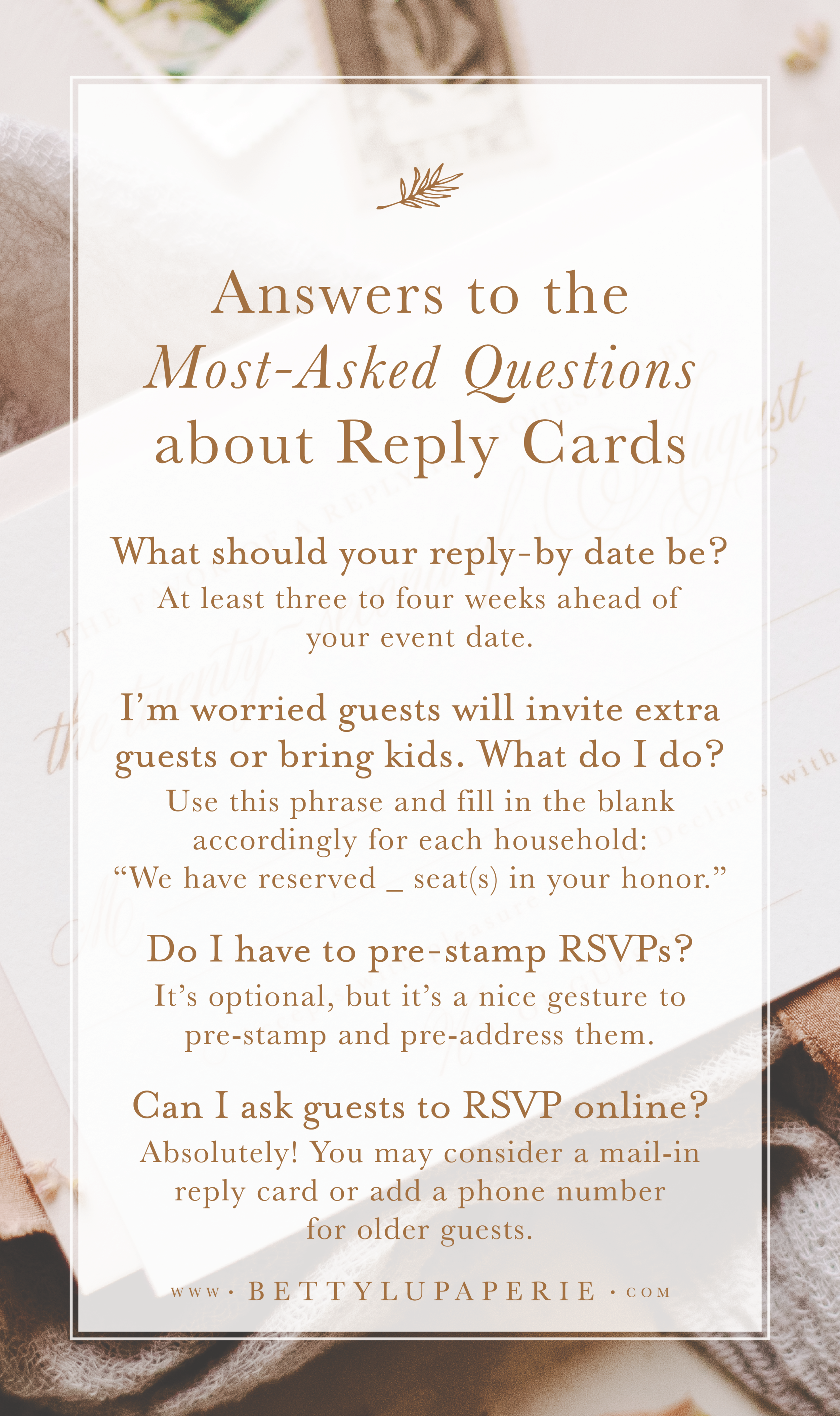 Wedding Rsvp Card Wording Betty Lu