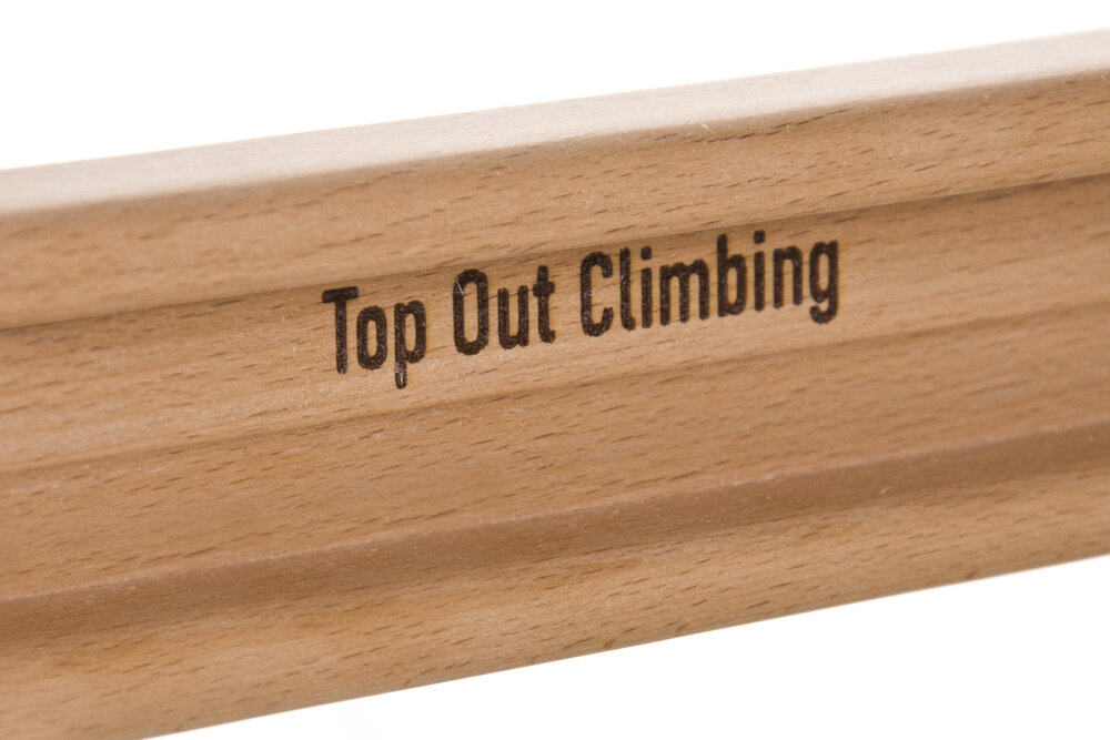 The Nomad Top Out Climbing portable hangboard