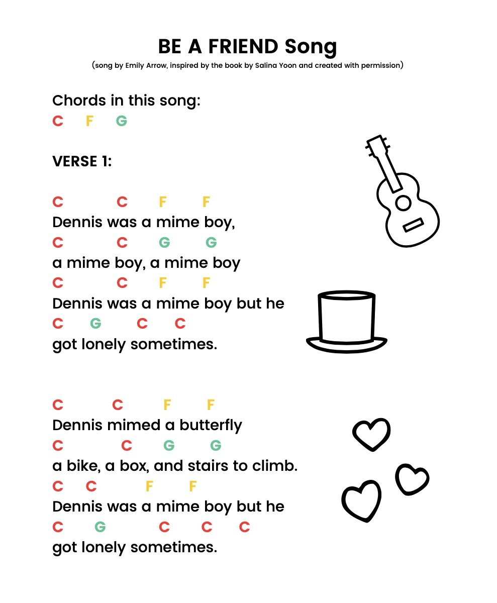 Resources — Emily Arrow   Children's Music & Books