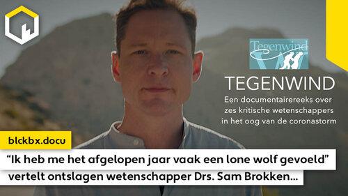 """""""Ik heb me het afgelopen jaar vaak een lone wolf gevoeld"""", vertelt gezondheidswetenschapper Drs. Sam Brokken…"""