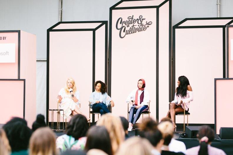 イベントオーガナイザーのCreate & Cultivate:女性の有名インベスター、会社役員、プロサーファーと共にInternational women's dayの特別イベントを企画しています。