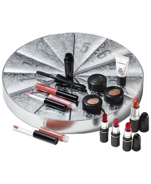 MAC 12-Pc. Frosted Firework Boom Boom Wow Mini Advent Calendar Gift Set  $99- $163 value  free full size lipstick with purchase