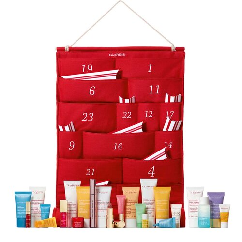 Clarins 24-Day Advent Calendar  $120- $270 value  free 5-piece gift with any $100+ purchase with promo code essentials20