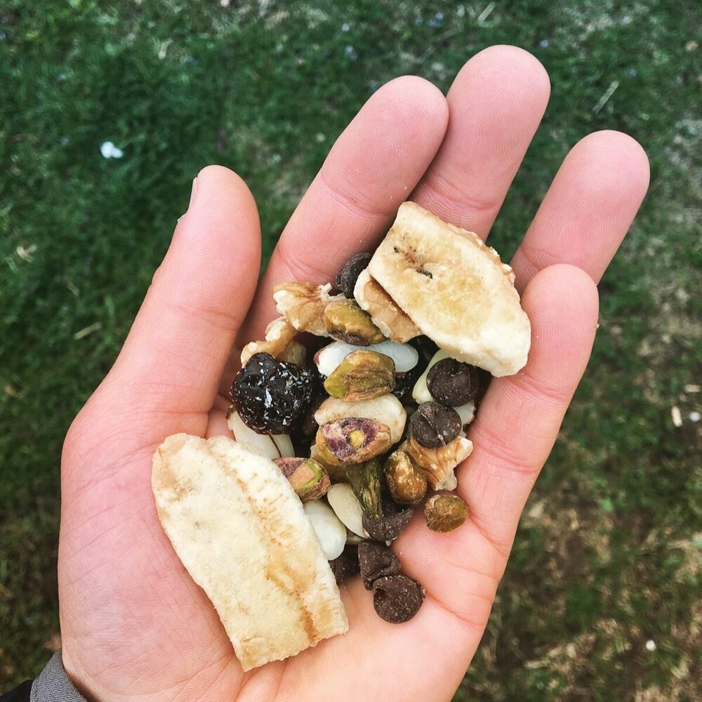 Your standard trail mix