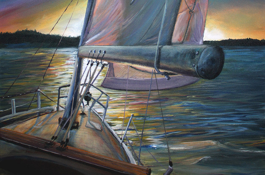 Stefan Kaertner - Stefan is a 32 year old Vancouver (Port Moody) artist with a focus on local landscapes. Stefan creates highly detailed acrylic original paintings on canvas.
