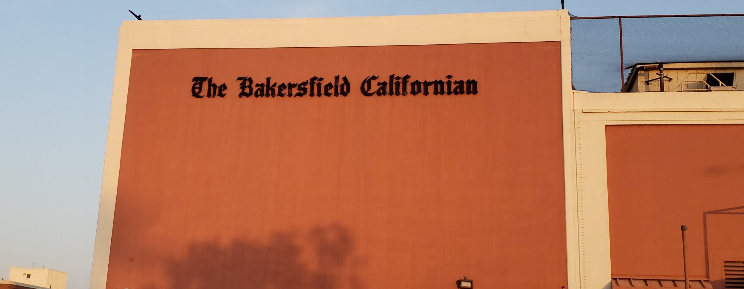Despite moving in 2018, the Bakersfield Californian Building still bears the title of its original owner.