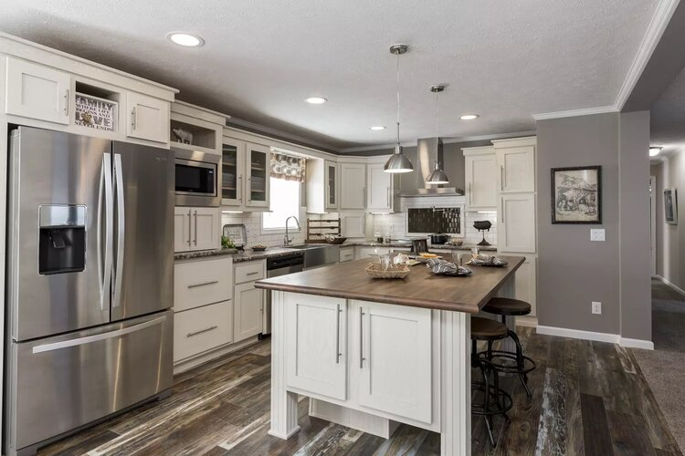 Thoughtful, modern kitchen design is a part of every Titicut Estates home.