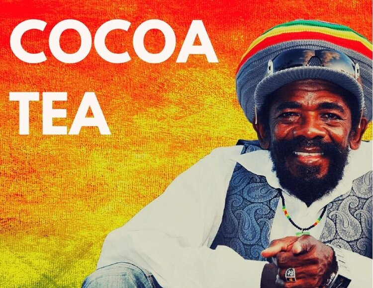 Cocoa Tea is a famous musician in Jamaica