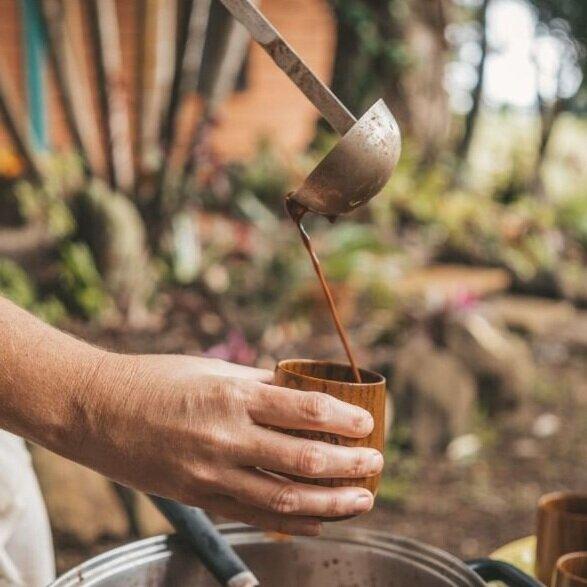 Cocoa Magic puring cacao