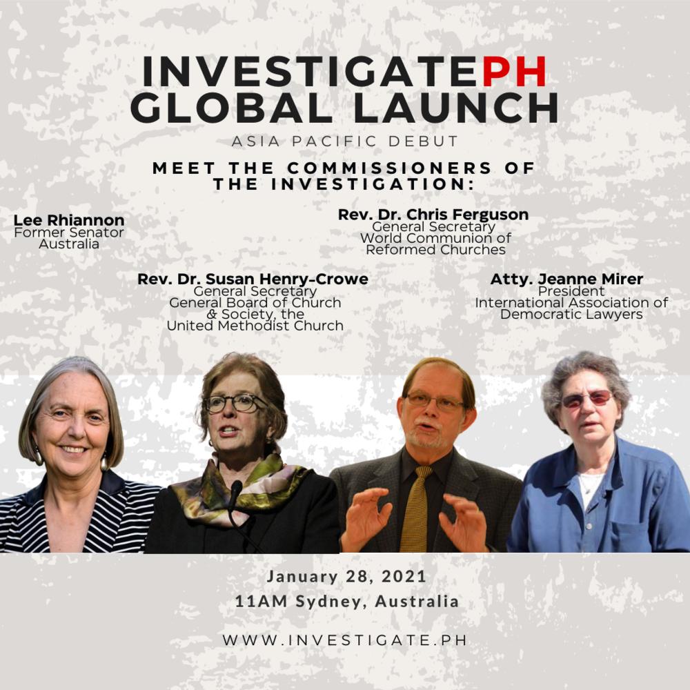Investigate PH - Asia Pacific Debut - Speakers