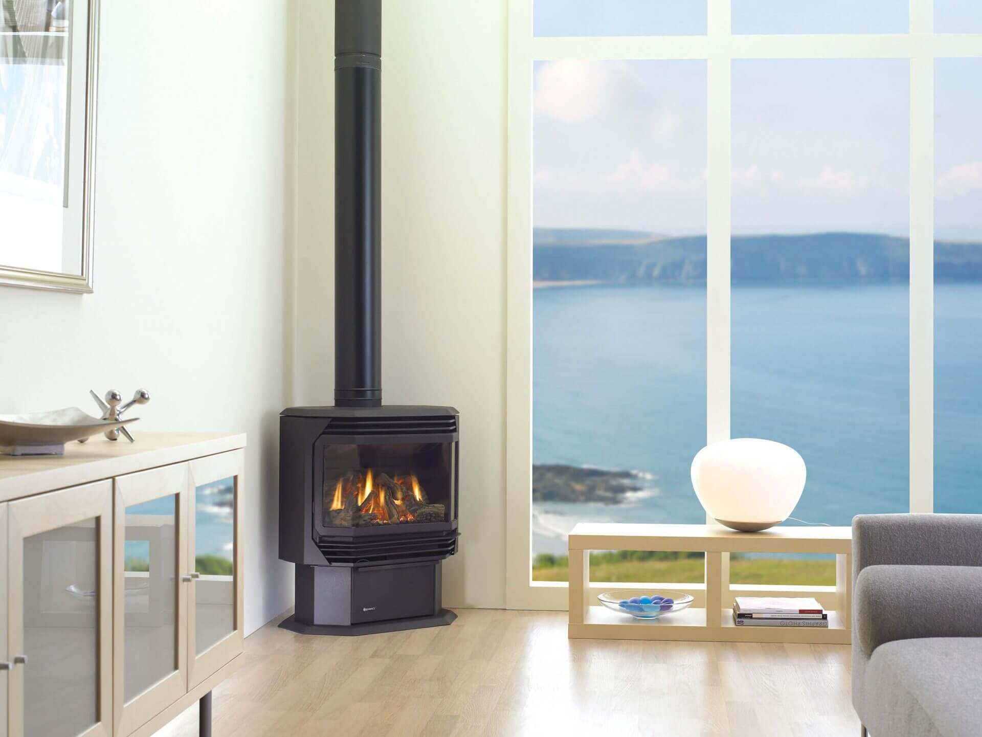 Gas Propane Fireplaces Regency Fireplaces Muskoka Ontario Tasso Lake