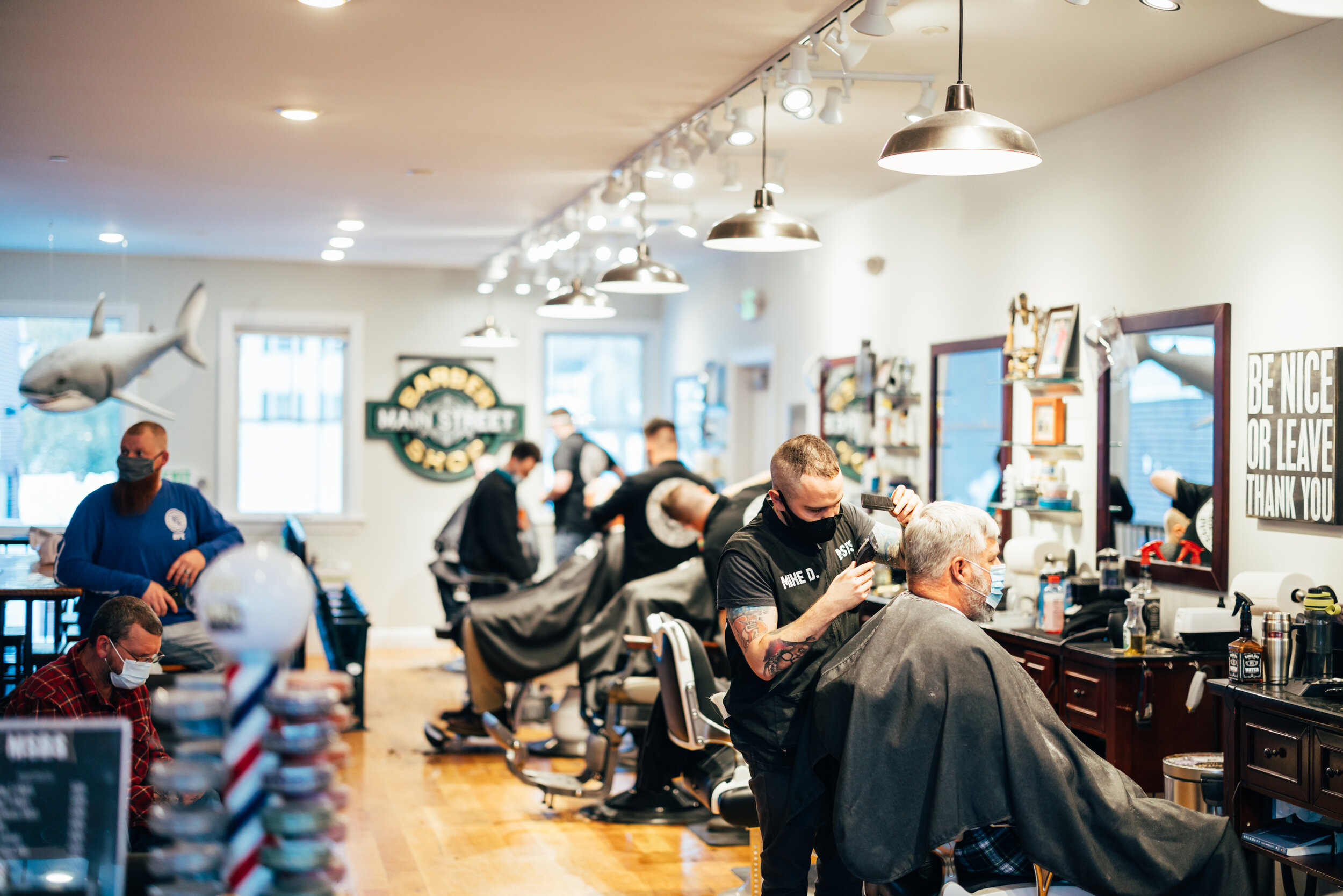 Main Street Barber Shop