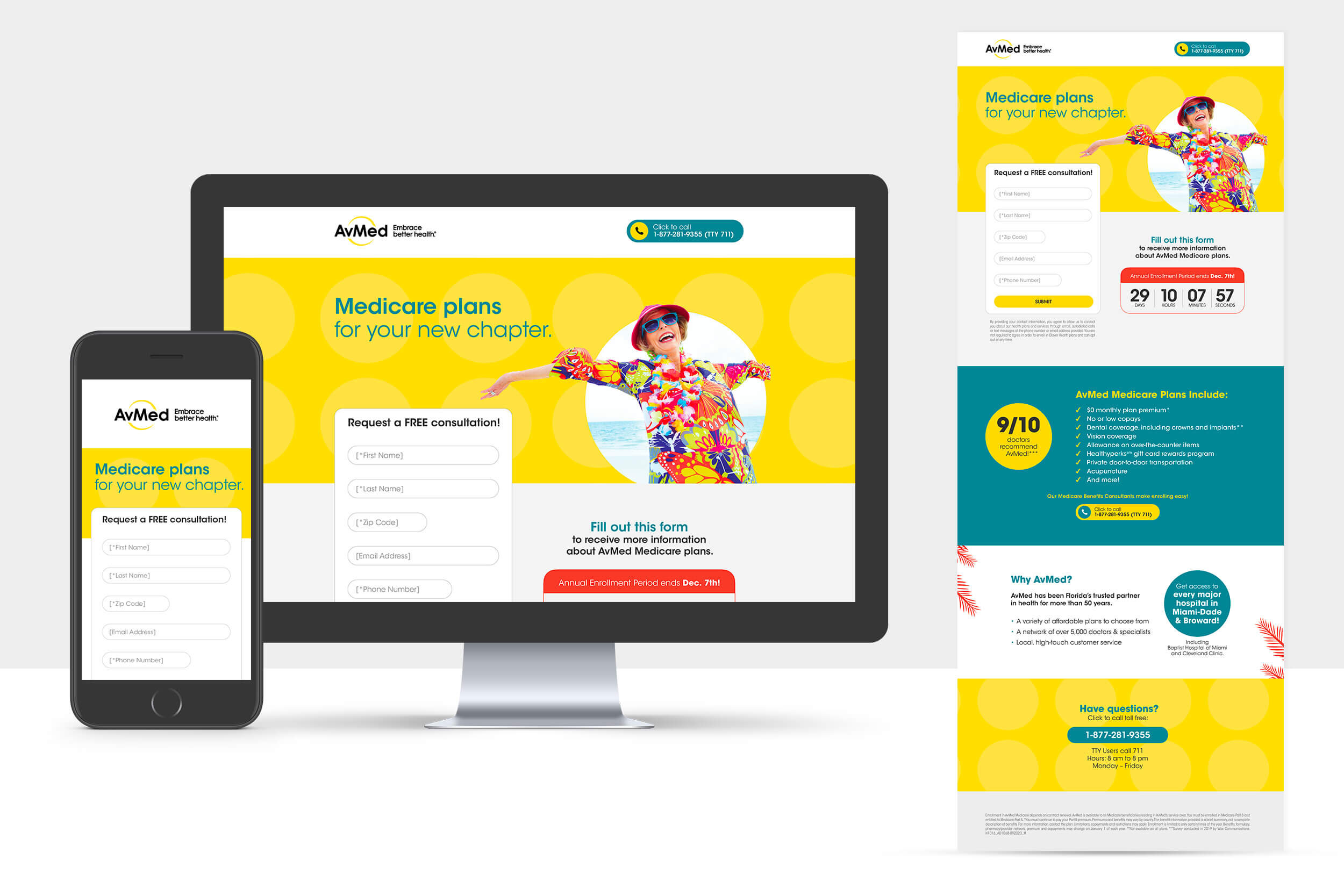 Avmed Medicare Campaign Juan Pedraza Graphic Design And Art Direction