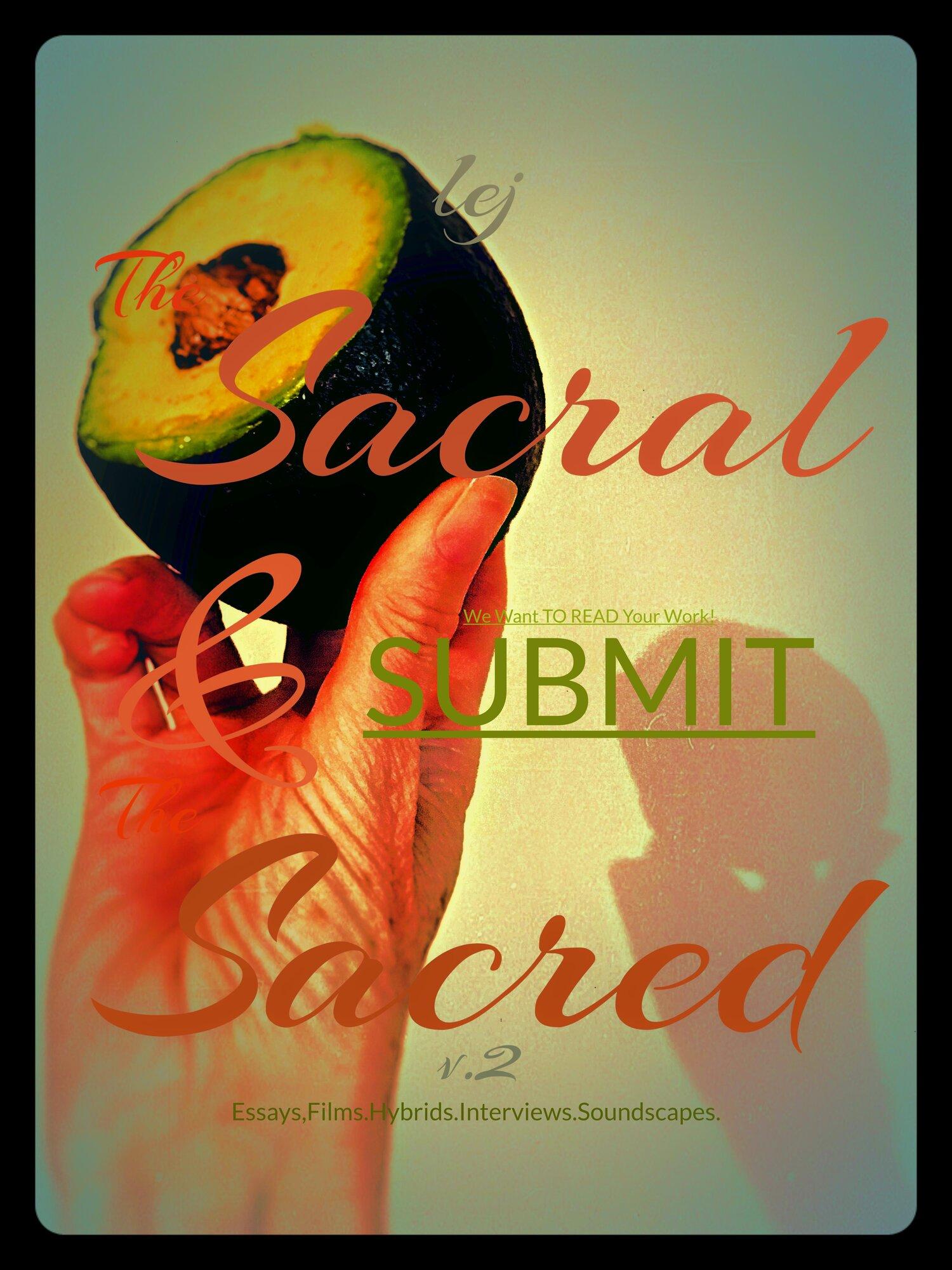 Upcoming: LEJv.002 The Sacral & The Sacred