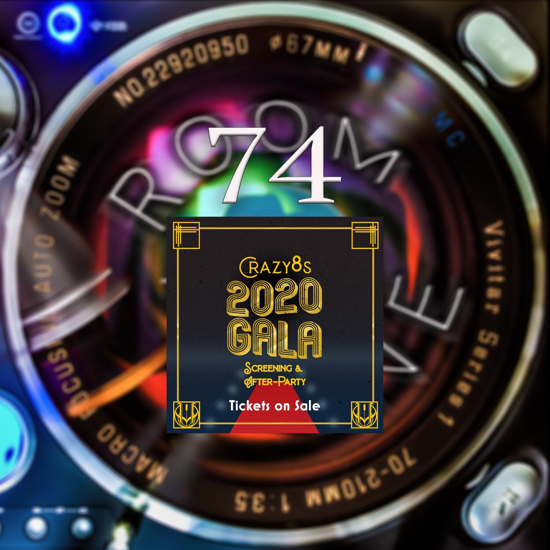 ROOM TONE Take 74 (Crazy 8s 2020 / Bruna Arbex & Kent Donguines)