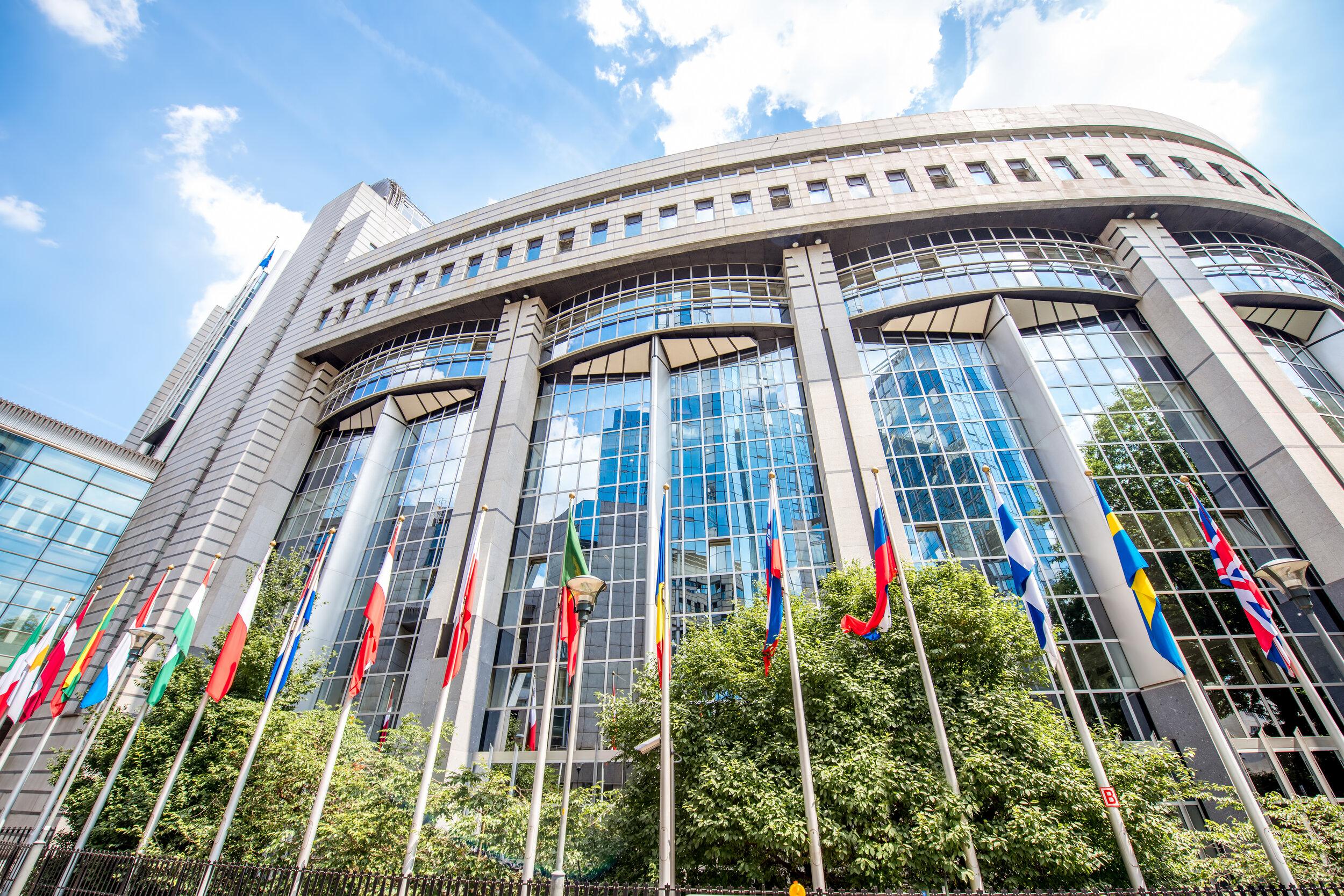 欧洲议会大厦在法国史特拉斯堡