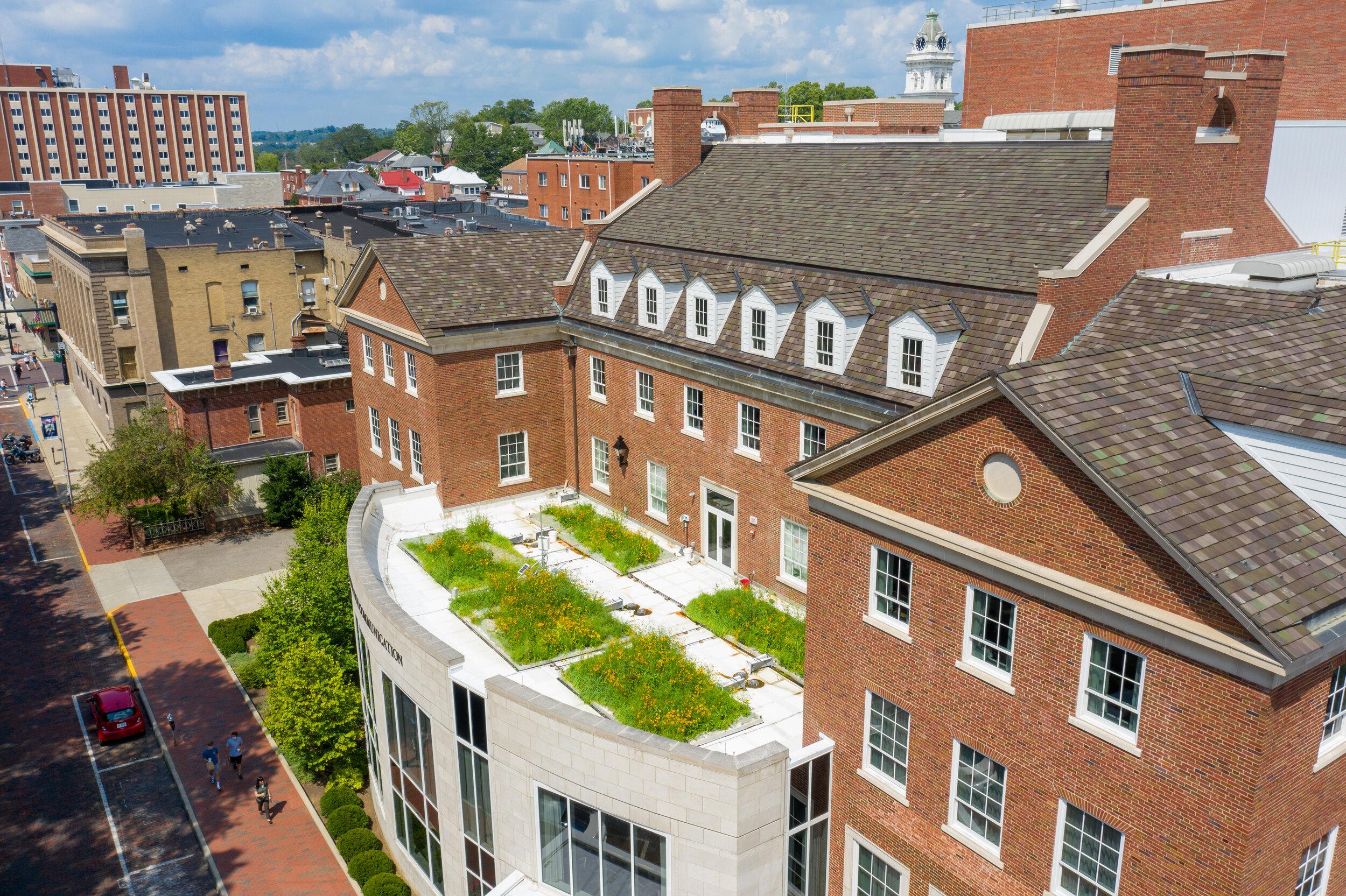 Schoonover中心,俄亥俄大学,雅典俄亥俄。2020年7月(图片:本·西格尔)