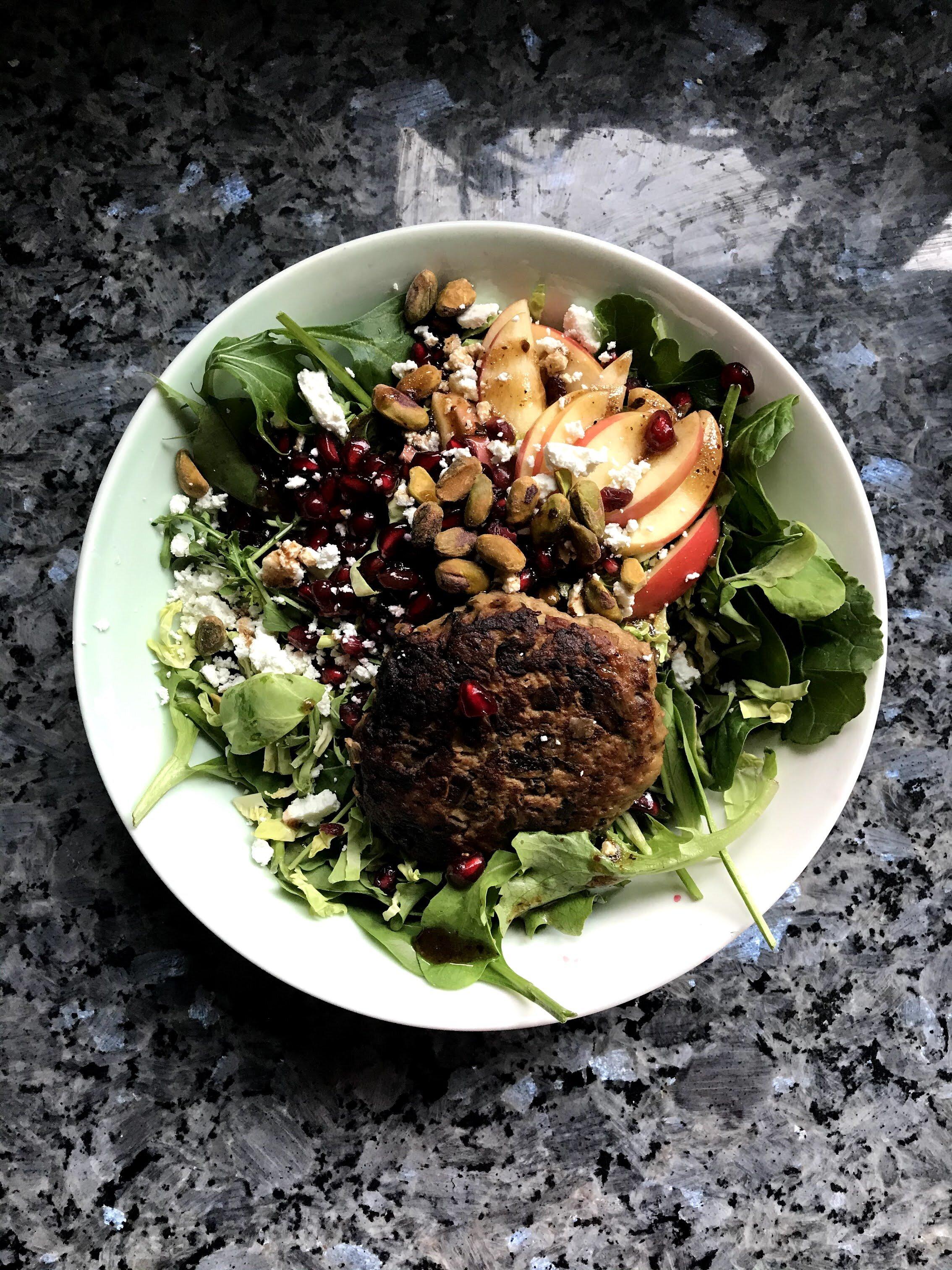 Turkey And Mushroom Burgers The Smithson Kitchen