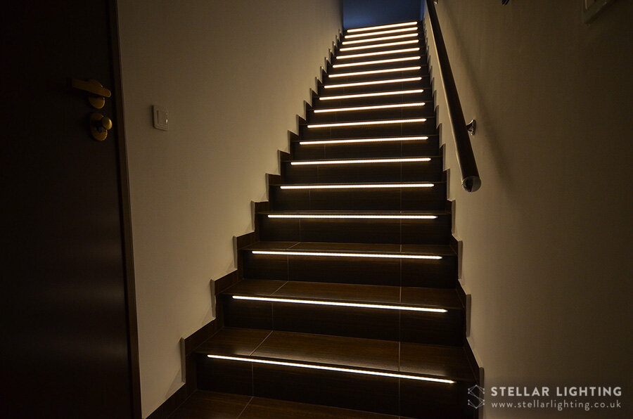 stair lighting kit synchronised scr