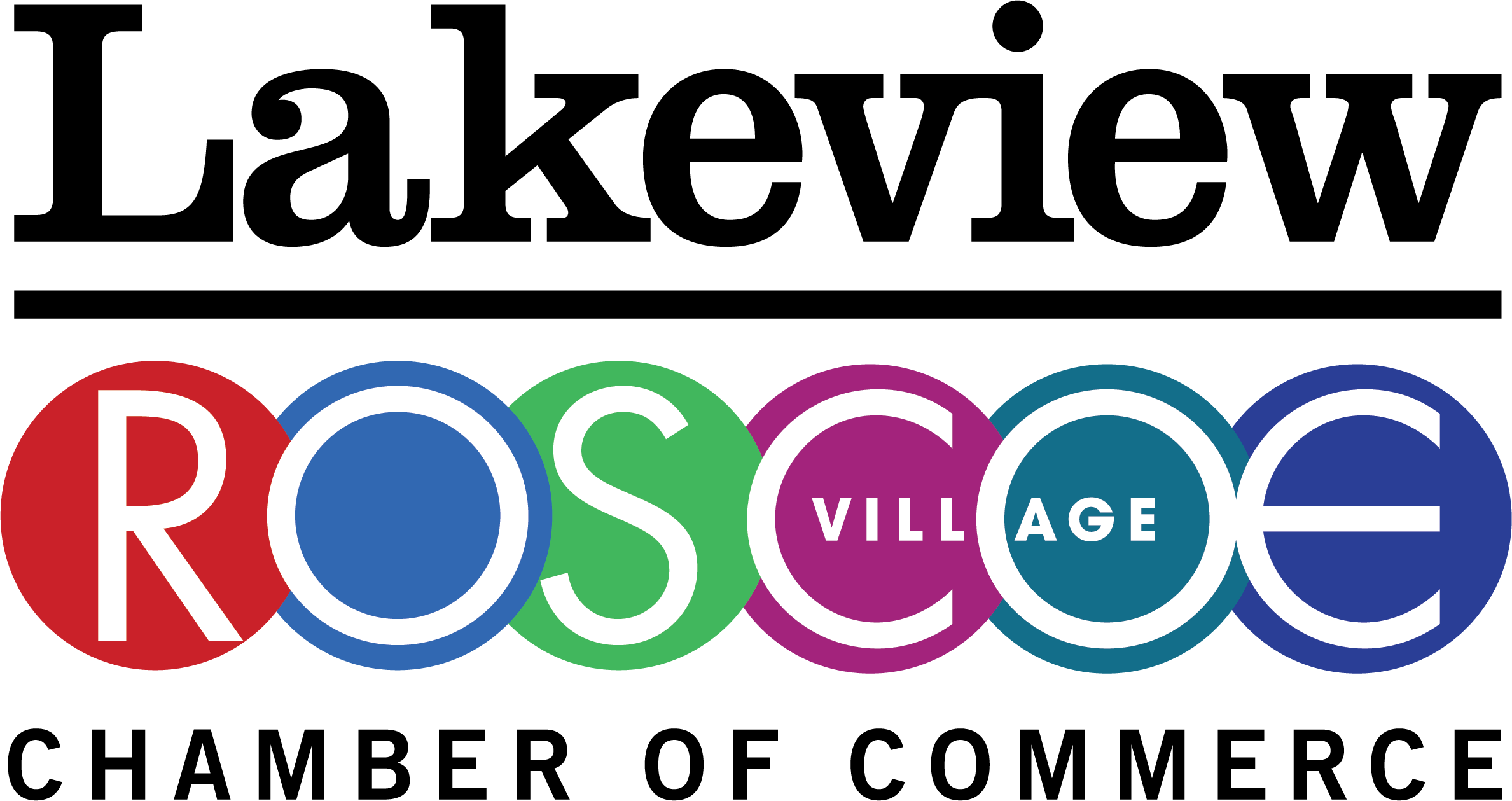 Lakeview Roscoe Village Chamber of Commerce Logo