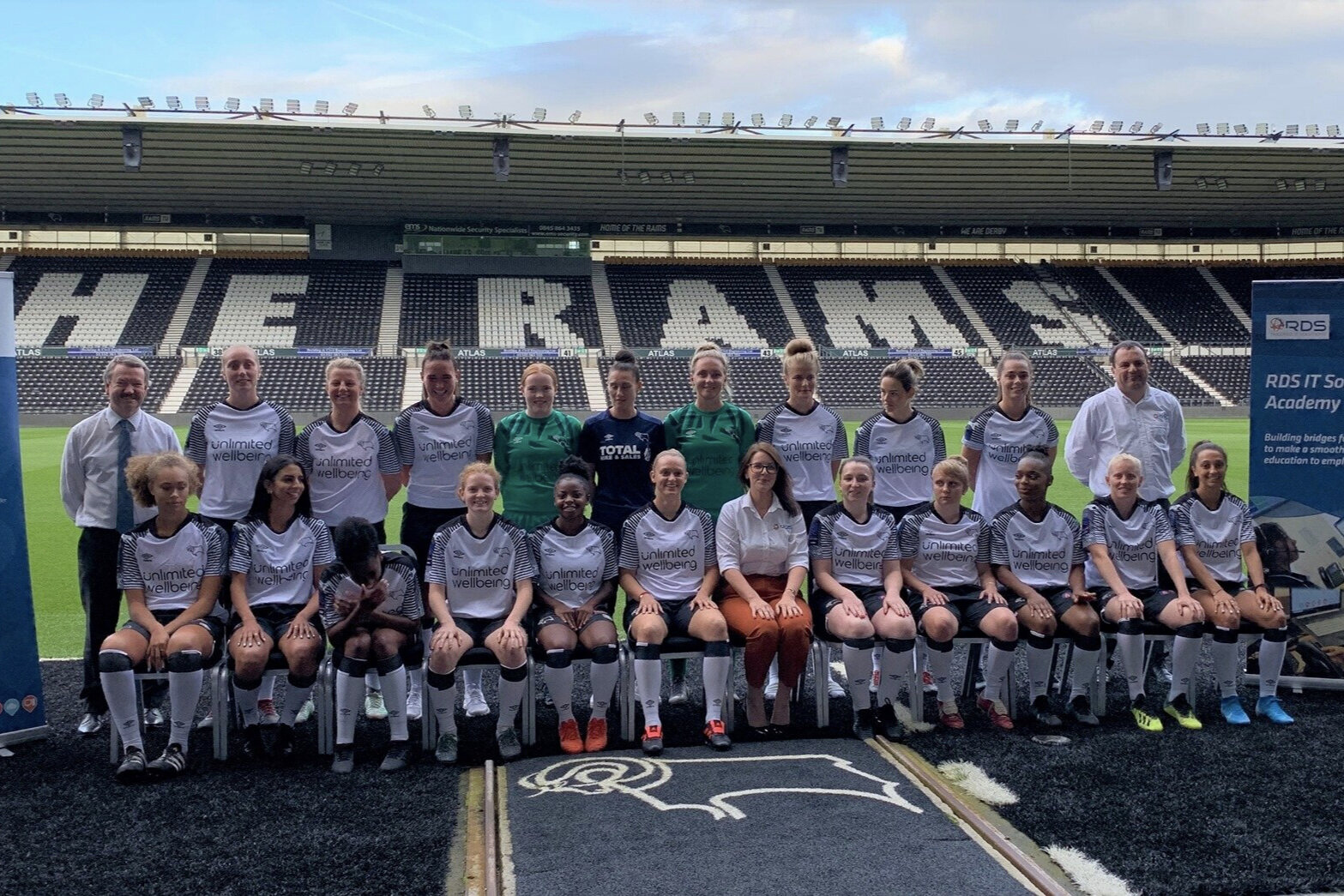 Supporting Gender Equality. - In 2016, RDS sponsored the Derby County FC Ladies U9's team and in 2018, were the proud media partner of the DCFC Ladies team. These sponsorships are indicative of the recent investment that RDS Global has made in supporting gender equality. Other support includes encouraging more women into technology jobs through our IT Academy and the sponsorship of the Women in Sports award at the Derby Telegraph Sports Awards in 2018.
