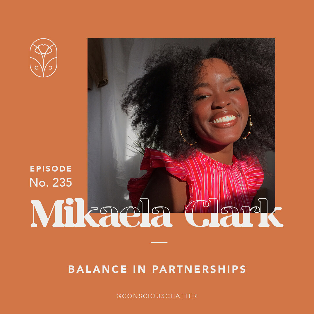 Conscious Chatter's Podcast with Brooklyn-based upcycling designer. - Mikaela Clark on balance in partnerships, welcoming the evolution of your creativity, and inclusivity in upcyclingMikaela Clark is a visual artist and designer, and the founder of Hansel - handpainted, upcycled apparel made in Brooklyn, New York.