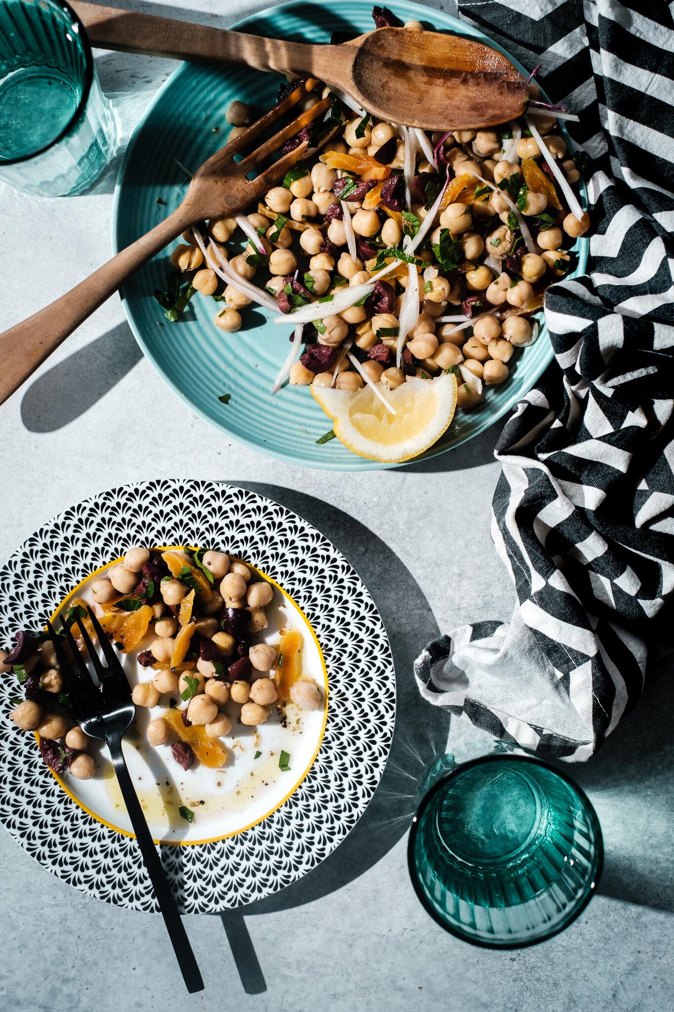 杏,别致的kpea Salad