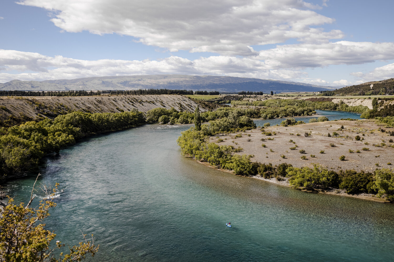 Pack Rafting the Clutha River