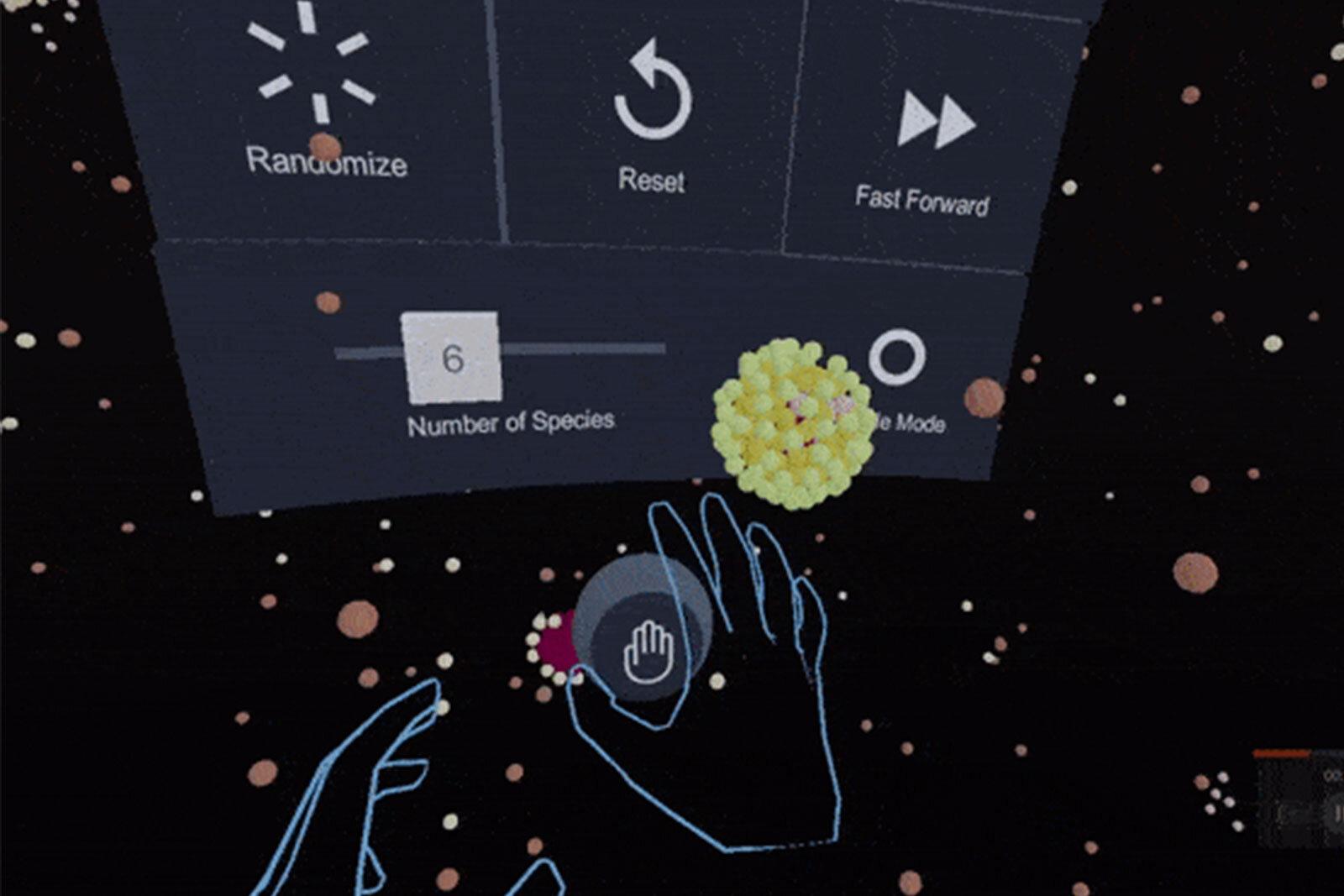 Menu in VR