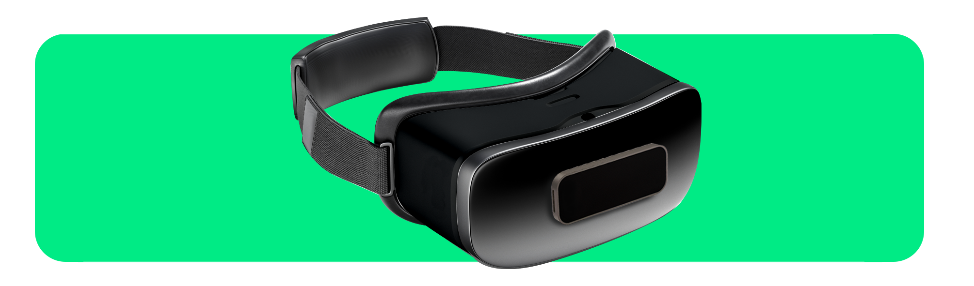 VR headset with Leap Motion Controller