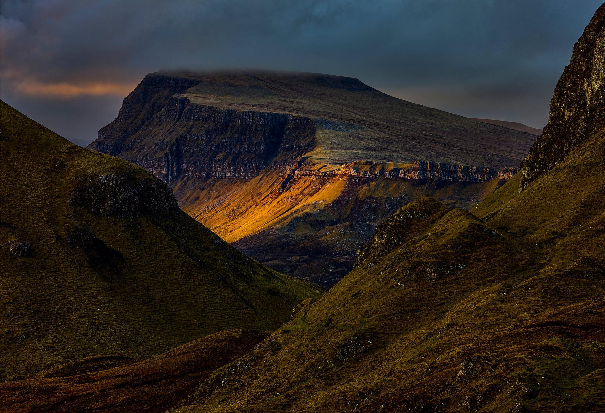 Fleeting Light, Quiraing, Skye