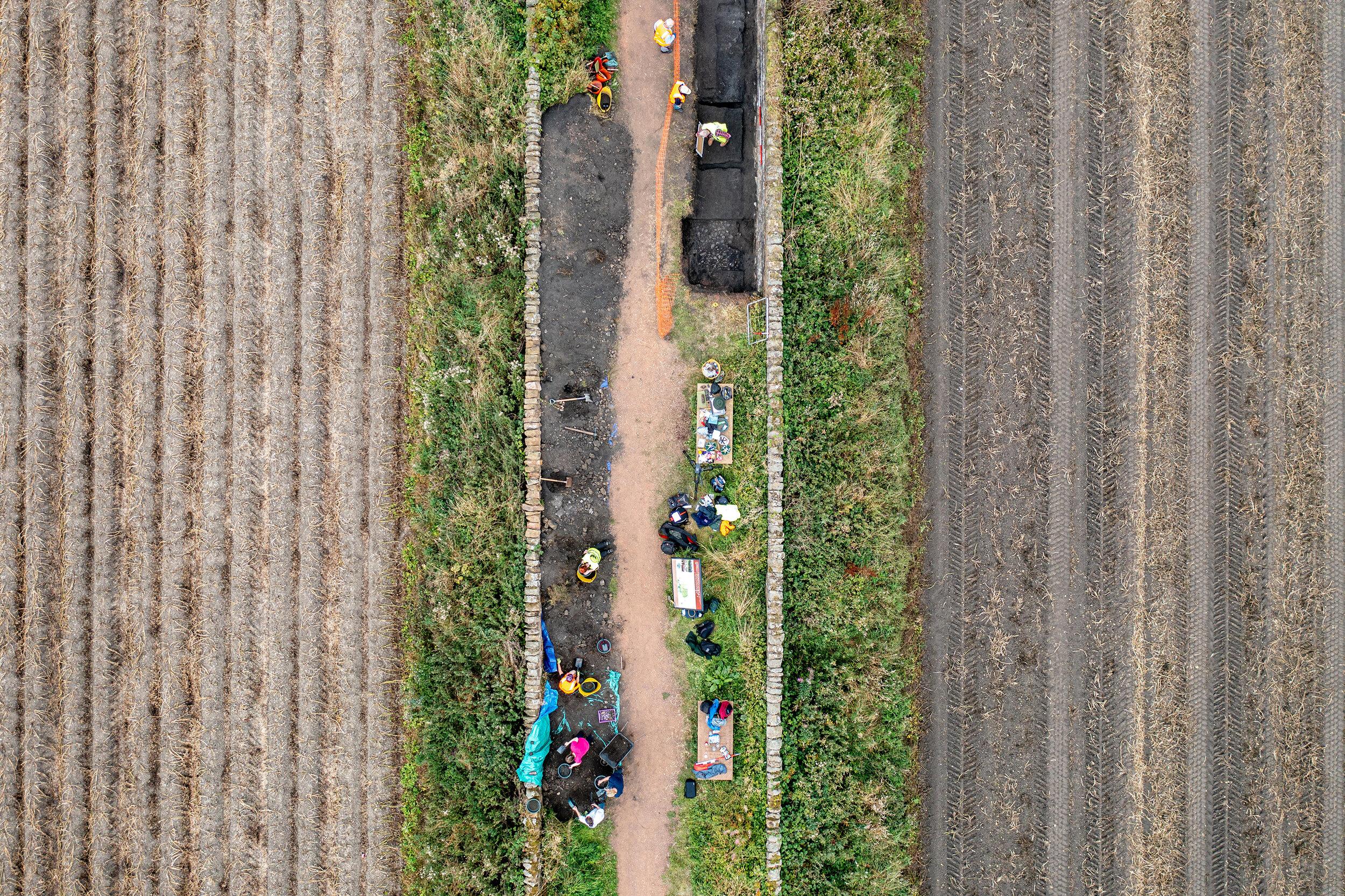 Waggonway Dig, East Lothian