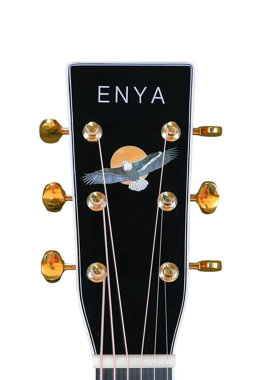 鷹擊長空  無畏前行 - T10采用了全新的方正ENYA商標,同時精選多種母貝材質的鷹擊長空圖騰,希望面對2020的挑戰,我們都有更加端正的態度和像鷹一樣的勇氣