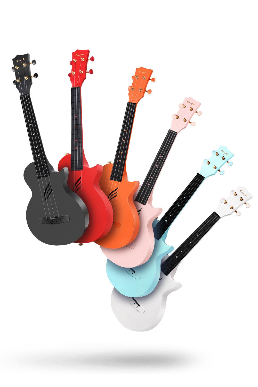 多色可選 - 為了由于復合碳纖維材質帶來的工藝升級,使得Nova U可以帶上多彩的顏色,不同的顏色帶來不同的心情以及不同的靈感,目前可選顏色有:太空黑、天貓紅、珊瑚橙、櫻花粉、心妍藍、雅士白