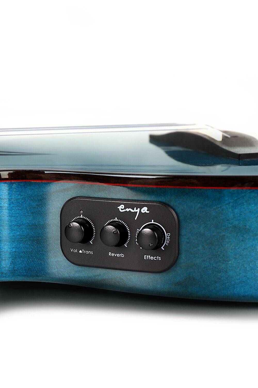 定制加震拾音器 - E6選用DOUBLE聲學開發的專屬定制拾音器,小巧輕薄,讓你在不外接任何效果的情況下,即可獲得合唱、延遲、混響的效果,聲音甜美清晰,富有動態使你的演奏更加豐富立體