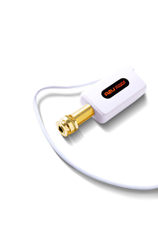 A2U拾音器 - A8選用DOUBLE聲學開發的A2U拾音器,A2U推出多年后,依然得到了廣大音樂人的好評,聲音甜美清晰,富有動態使你的演奏更加豐富立體