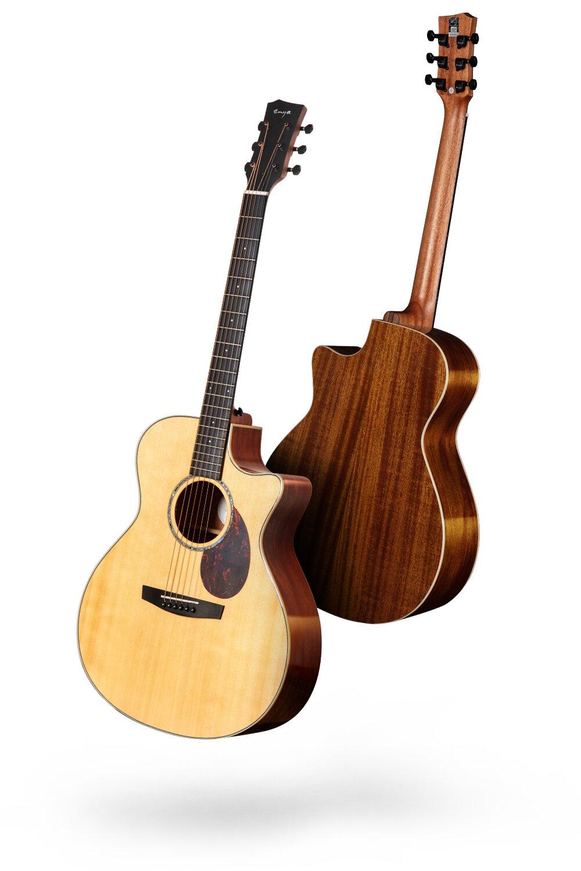 繼承 + 創新 - 時隔一年,恩雅高端產線不僅全面繼承了原產線25年的匠心工藝,這次我們將全面融入恩雅創新工藝,開啟恩雅高端產線新時代,為大家帶來了我們整個產品線的第一款GA桶型吉他技術全面升級,聲學品質多重驚喜