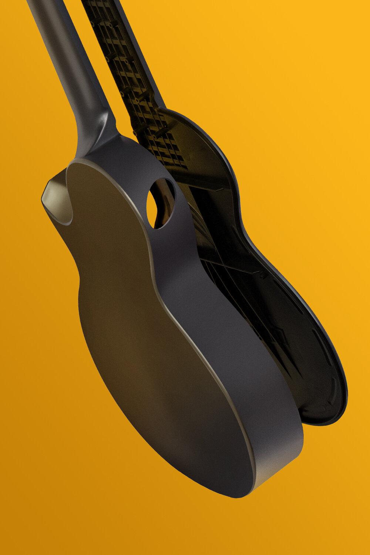 創新性碳纖維制琴工藝 - 傳統工藝中,琴身只能分為不同部分進行拼接制作,造成琴身整體音色傳導損耗較大, 通過復合碳纖維材料,我們創新了制琴工藝, NOVA U Pro使用碳纖維材料一體鑄造而成,僅把琴分為兩部分減少了琴身所帶來的的音色損耗一體鑄造也讓音色更加自然通透