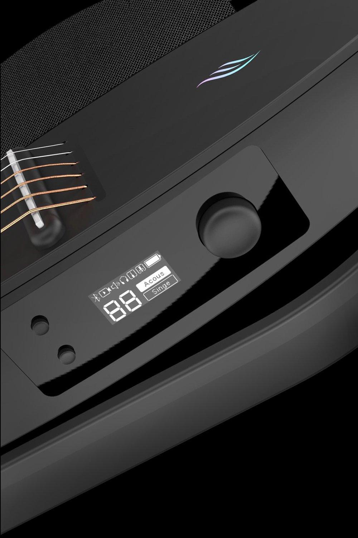 想要的聲音信手拈來 - NEXG自帶一個OLED屏幕,一鍵搞定5種預設音效切換及音量調節,另外兩鍵輕松搞定調音、消除人聲、開關藍牙、切換演奏或聽音樂模式隨心所欲,無限暢玩