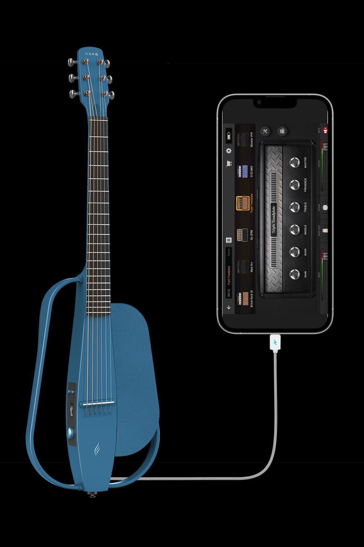 自帶App音效拓展借口 - NEXG還兼具音效拓展功能,通過音頻接口鏈接手機后讓你擁有IOS系統APP上各種豐富的音色、工具生態一切只為給你更多