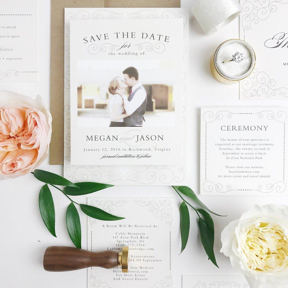 Montreal Wedding Invitation Ideas